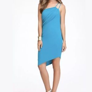 ⚡️SOLD⚡️Bebe Womens Small Asymmetric Draped Dress